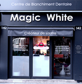 boutique centre de blanchiment dentaire